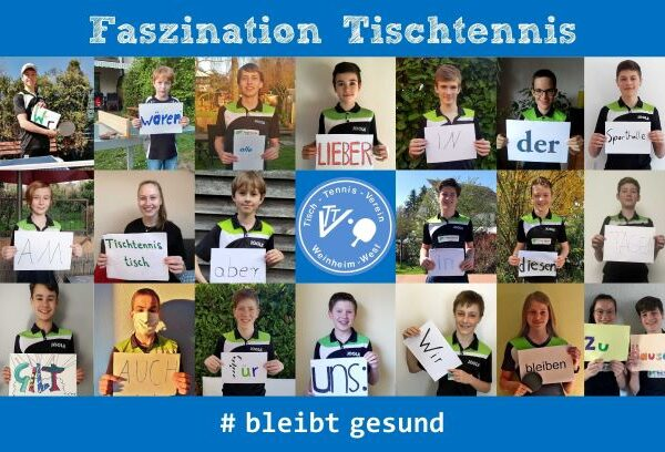 Kids Club Tischtennis mal anders